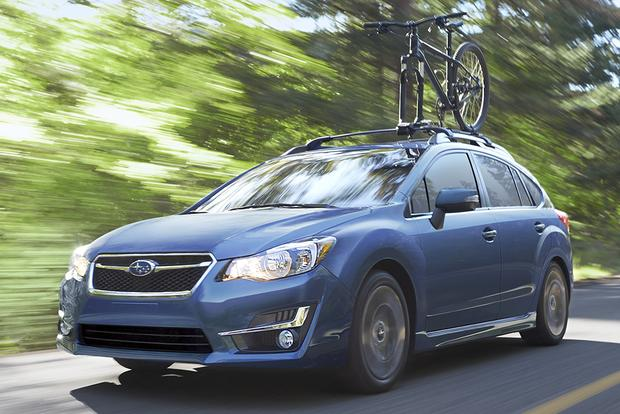 2015 subaru impreza new car review autotrader. Black Bedroom Furniture Sets. Home Design Ideas