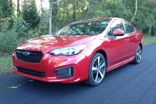 2017 Subaru Impreza Sport: It's a Grower featured image large thumb0
