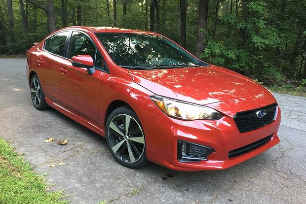 2017 Subaru Impreza: Infotaining featured image large thumb1