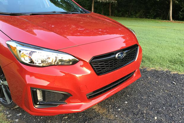 2017 Subaru Impreza: Athletic Equipment featured image large thumb4