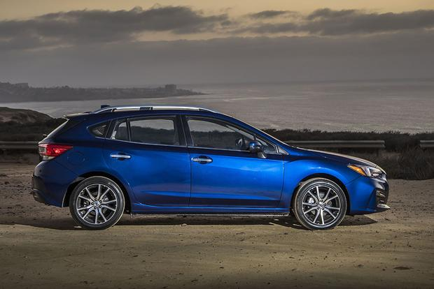 2018 subaru sti hatch. plain subaru 2018 subaru impreza new car review featured image large thumb7 in subaru sti hatch