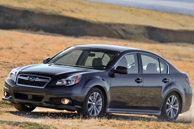 2014 Subaru Legacy: New Car Review featured image large thumb2