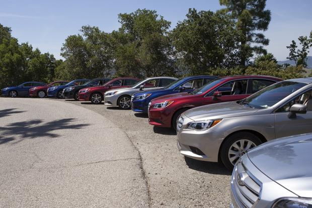 2015 Subaru Legacy: First Drive Review featured image large thumb1