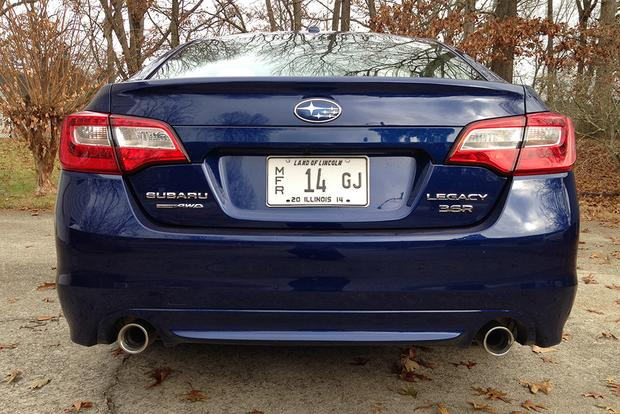 2015 Subaru Legacy 3.6R: Real World Review featured image large thumb7