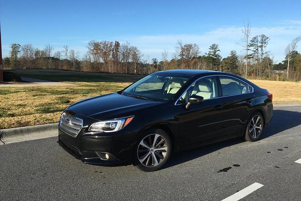 2016 Subaru Legacy: Little Flaws