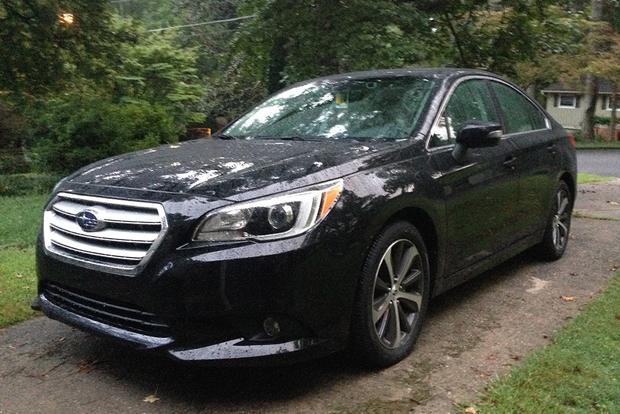 2016 Subaru Legacy: Right Size