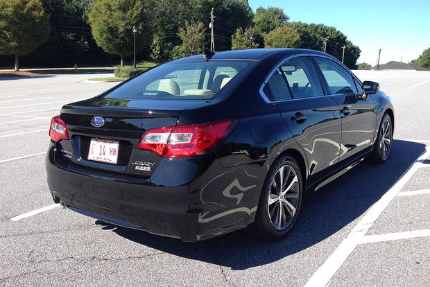2016 Subaru Legacy: Everyday Driving featured image large thumb6