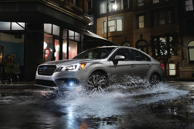 2018 Subaru Legacy: New Car Review featured image large thumb2