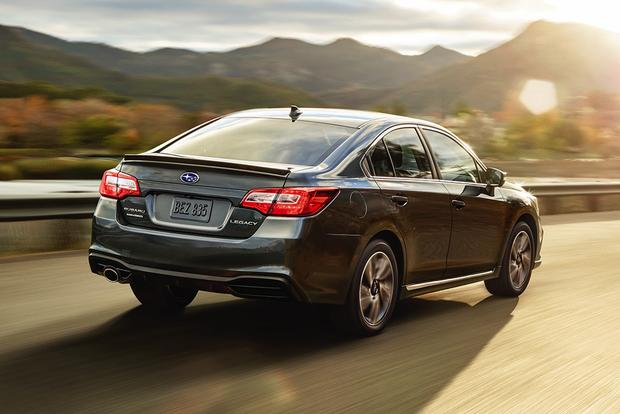 2018 Subaru Legacy: New Car Review featured image large thumb3
