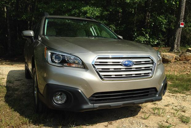 2015 subaru outback 2.5i manual
