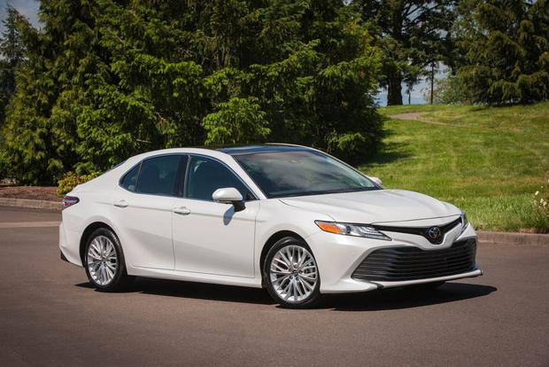 2018 Toyota Camry vs. 2017 Mazda6: Which Is Better? featured image large thumb11