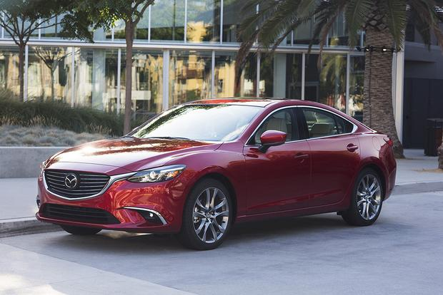 2018 Toyota Camry vs. 2017 Mazda6: Which Is Better? featured image large thumb6