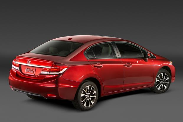 2014 Toyota Corolla vs. Honda Civic featured image large thumb7