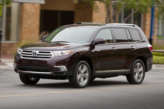 2013 Toyota Highlander: New Car Review featured image large thumb0