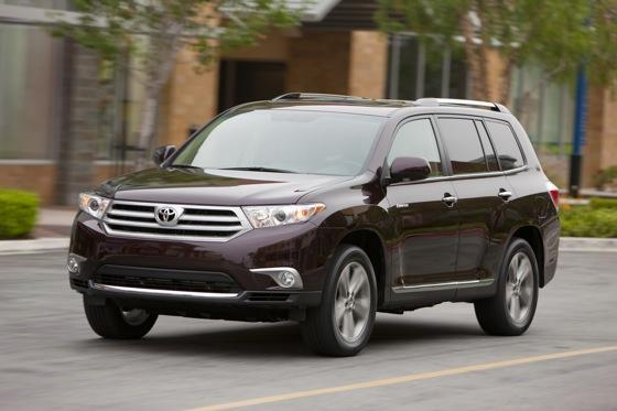 2012 Toyota Highlander: OEM Image Gallery featured image large thumb1