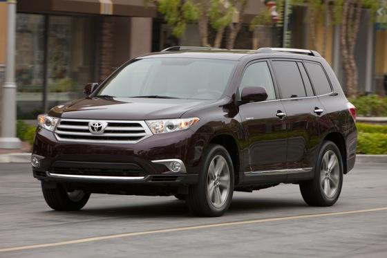 2012 Toyota Highlander: OEM Image Gallery featured image large thumb2