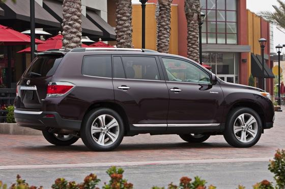 2012 Toyota Highlander: OEM Image Gallery featured image large thumb5