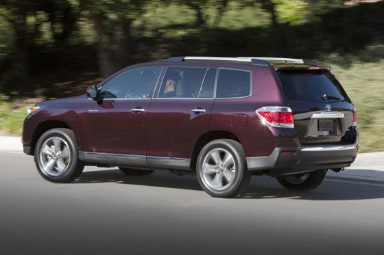 2012 Toyota Highlander: OEM Image Gallery featured image large thumb16
