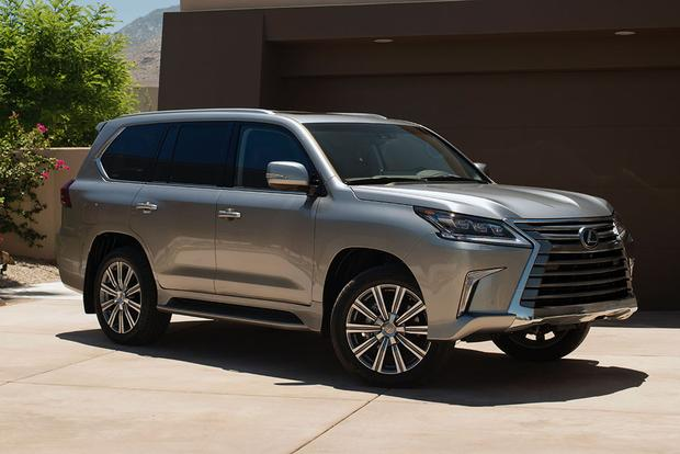 2016 Toyota Land Cruiser Vs 2016 Lexus Lx 570 What S The