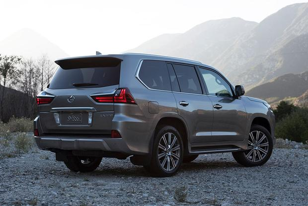 2016 Toyota Land Cruiser vs. 2016 Lexus LX 570: What's the Difference? featured image large thumb8