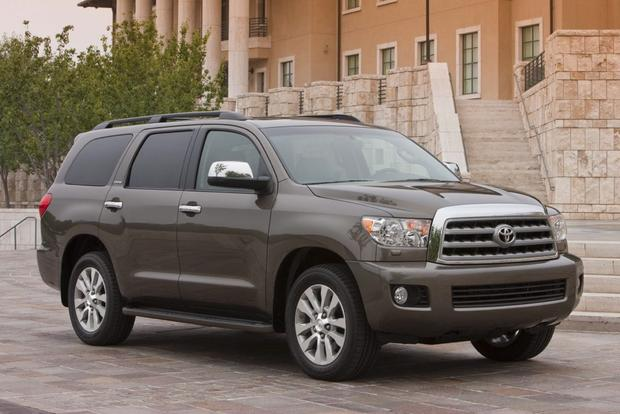 2014 toyota sequoia new car review autotrader. Black Bedroom Furniture Sets. Home Design Ideas
