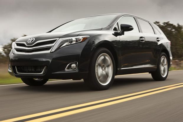 2014 toyota venza new car review autotrader. Black Bedroom Furniture Sets. Home Design Ideas