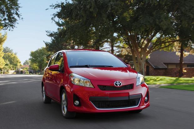 2014 Toyota Yaris: New Car Review featured image large thumb2