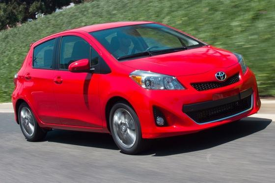 2012 Toyota Yaris: New Car Review featured image large thumb0