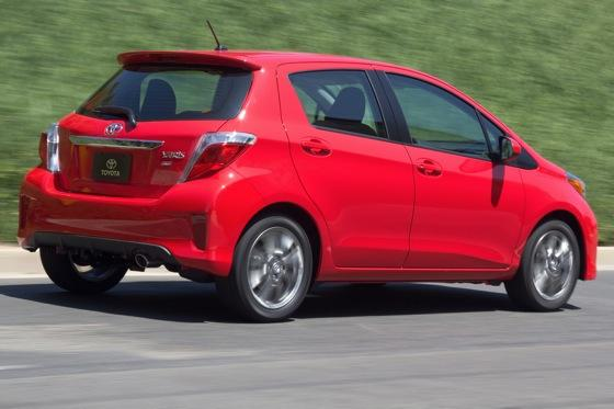 2012 Toyota Yaris: New Car Review featured image large thumb4