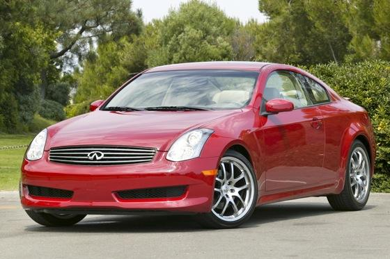 Used Infiniti G Coupe