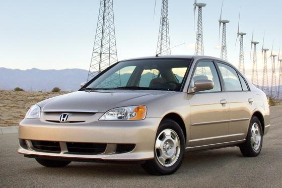 2003 2005 honda civic hybrid used car review autotrader for Certified used honda civic
