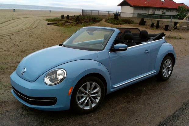2013 VW Beetle Convertible: First Drive Review