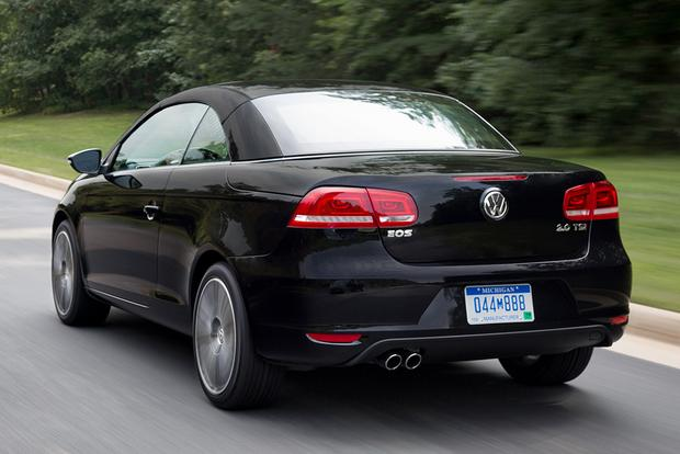 2015 volkswagen eos new car review autotrader. Black Bedroom Furniture Sets. Home Design Ideas