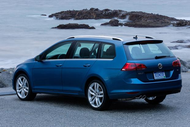 2015 Volkswagen Golf SportWagen: New Car Review featured image large thumb4