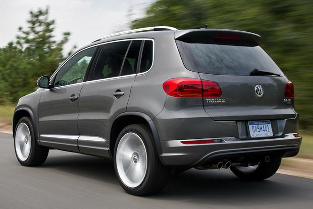 2015 volkswagen tiguan new car review autotrader. Black Bedroom Furniture Sets. Home Design Ideas