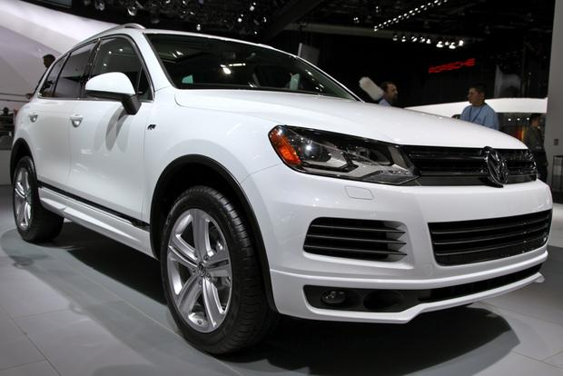 2014 VW Touareg: Detriot