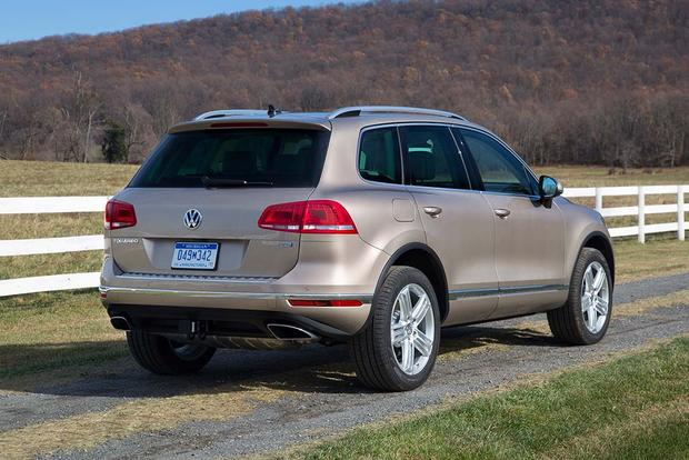 2016 volkswagen touareg new car review autotrader. Black Bedroom Furniture Sets. Home Design Ideas