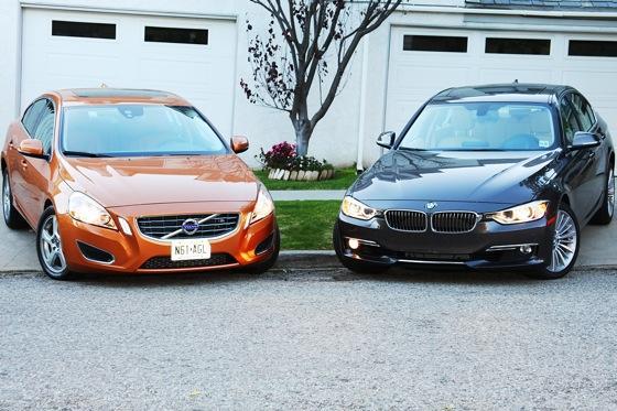 Volvo S Volvo Vs BMW Smackdown Autotrader - 2012 bmw 328i price