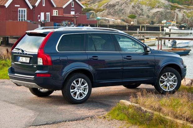 2012 Volvo Xc90 Blue 200 Interior And Exterior Images