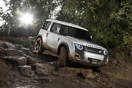 Next Gen Land Rover Defender Concept Coming to Frankfurt featured image large thumb0