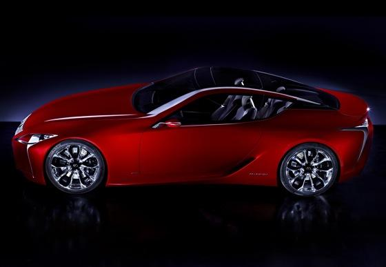 Lexus Gives Sneak Peak of Coupe Concept featured image large thumb0