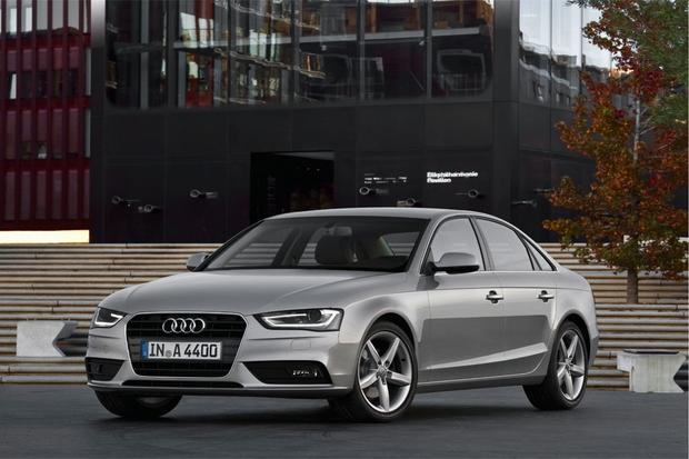 Audi Refreshes A4 and A5 for 2013