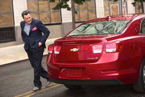 2013 Chevrolet Malibu Inspires Fashion Icon