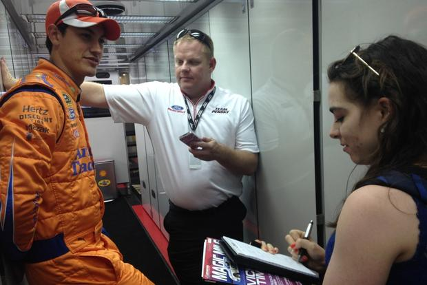 One-on-One With NASCAR Driver Joey Logano featured image large thumb0