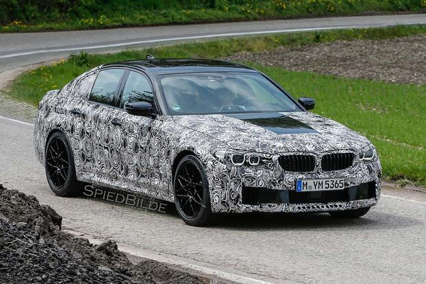 BMW 5 Series Spy Shots Preview the Model's Next Redesign featured image large thumb0