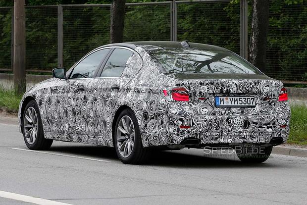BMW 5 Series Spy Shots Preview the Model's Next Redesign featured image large thumb1
