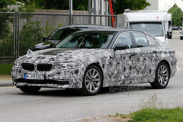 BMW 5 Series Spy Shots Preview the Model's Next Redesign featured image large thumb2