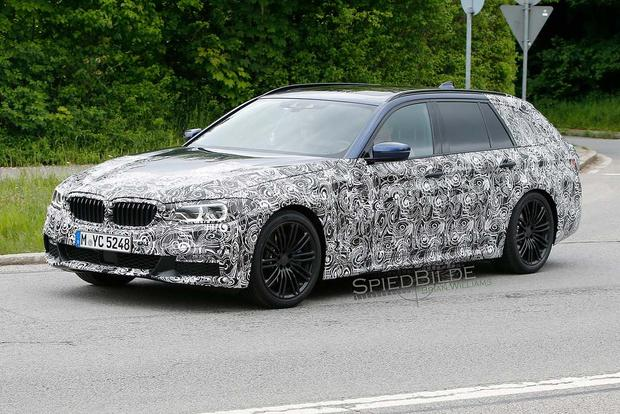BMW 5 Series Spy Shots Preview the Model's Next Redesign featured image large thumb3