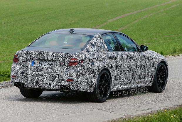 BMW 5 Series Spy Shots Preview the Model's Next Redesign featured image large thumb4