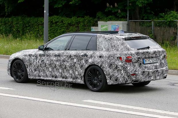 BMW 5 Series Spy Shots Preview the Model's Next Redesign featured image large thumb7
